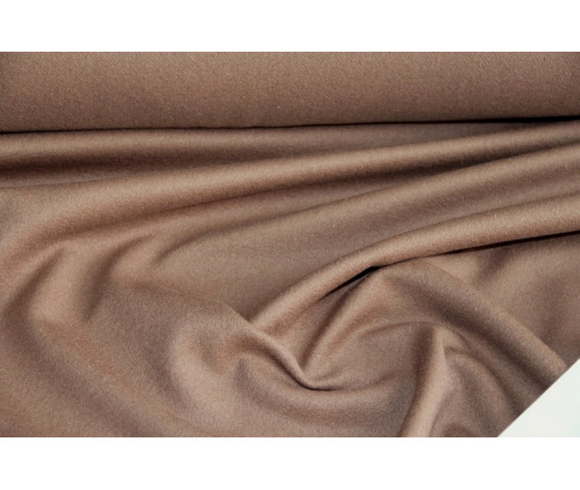Пальтовая ткань , цвет бежево-коричневый.
