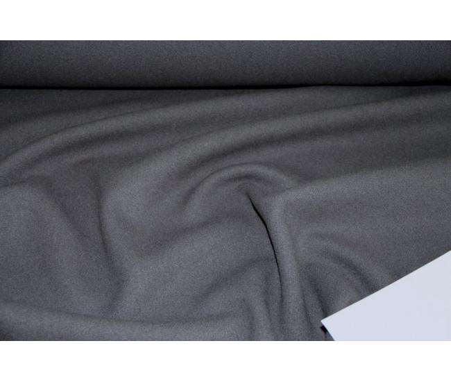 Пальтовая двойная ткань с кашемиром 10%, цвет маренго.