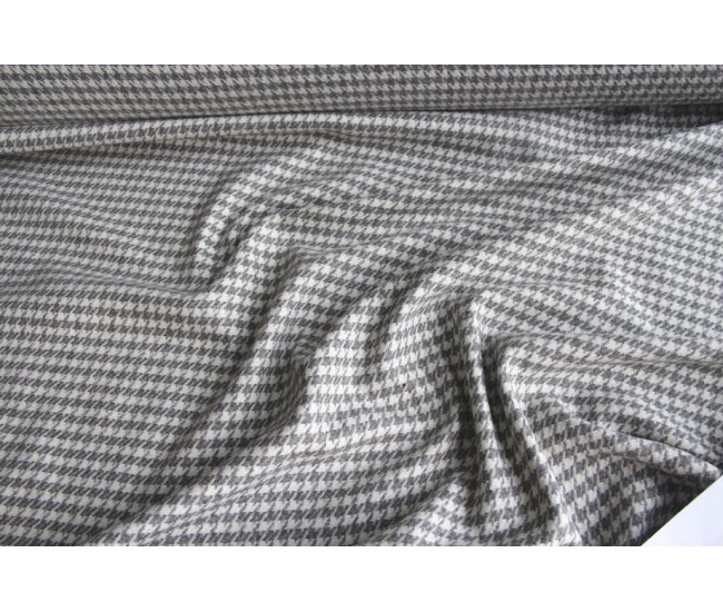 Пальтово-костюмная ткань ,цвет молочно-серый.