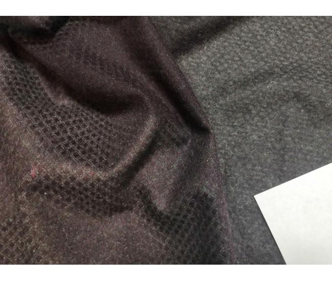 Костюмно-плательная жаккардовая ткань, фактура фланель, в наличии 3.4м,