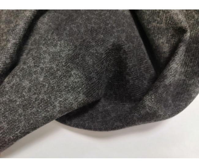 Костюмно-плательная фланель с печатью. Остаток 2,45м