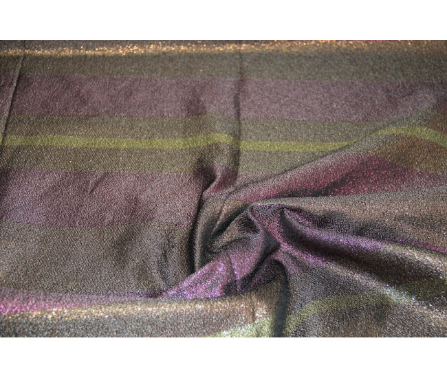 Костюмно-плательная ткань с метанитью, отрез 5.35м