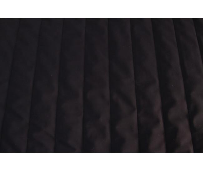 Стеганая  на тинсулейте  ,  цвет черный матовый