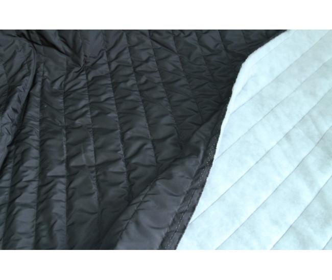 Стеганая ткань (не плащевая)  на тинсулейте,  цвет черный