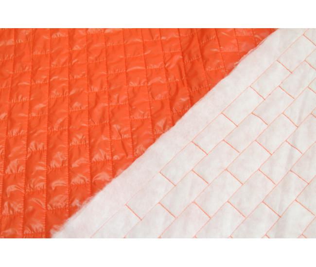 Стеганая на тинсулейте , цвет  оранжевый