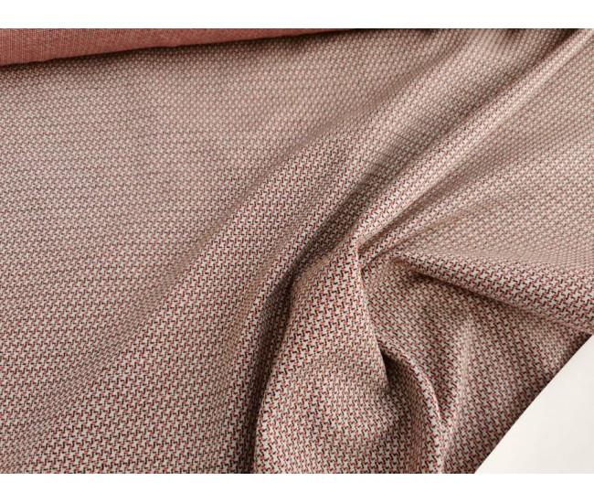 Жаккардовый костюмно-плательный трикотаж - джерси.