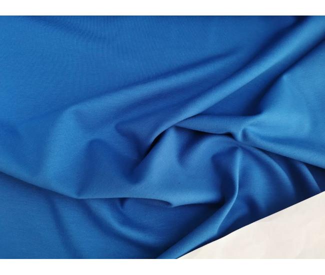 Костюмно-плательный  трикотаж пунтомилано Max Mara . Цвет лазурный.