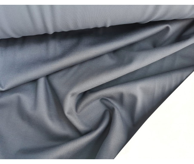 Костюмно-плательный  трикотаж . Цвет серо-голубой.