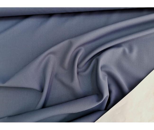 Костюмно-плательная  шерсть стрейч,  цвет сизый,