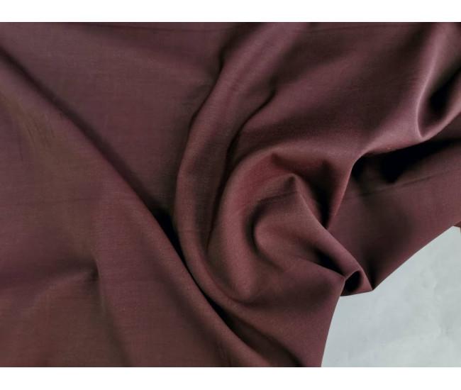 Костюмно-плательная ткань стрейч,  цвет винный,