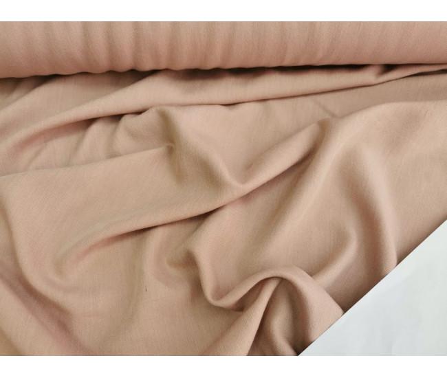 Костюмно-плательная ткань,  цвет розовый кварц,