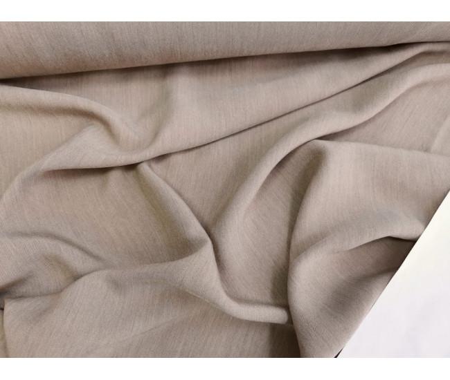 Костюмно-плательная ткань,  цвет бежевый меланж,