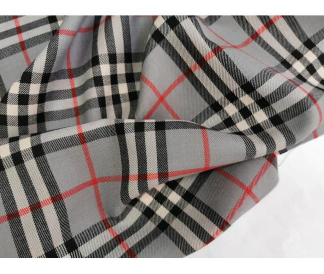 Костюмно-плательная   шерсть,  цвет фона серый