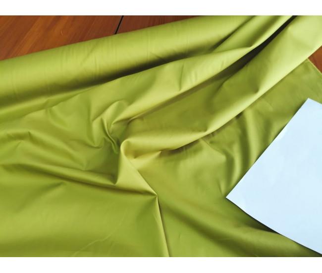 Плательно-рубашечный хлопок  Цвет оливковый