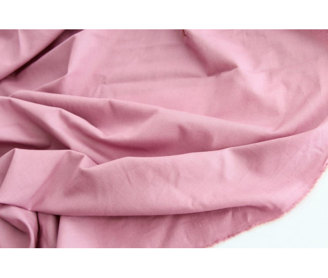 Плательно-рубашечный  хлопок,цвет приглушенная орхидея.