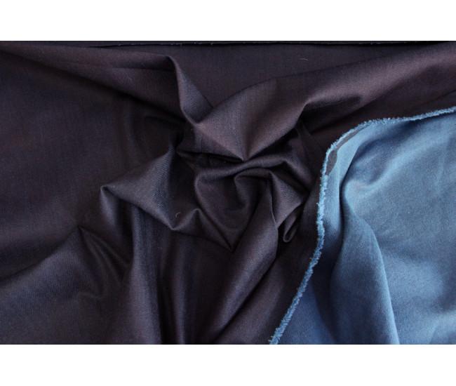 Двусторонняя плотная джинса стрейч.