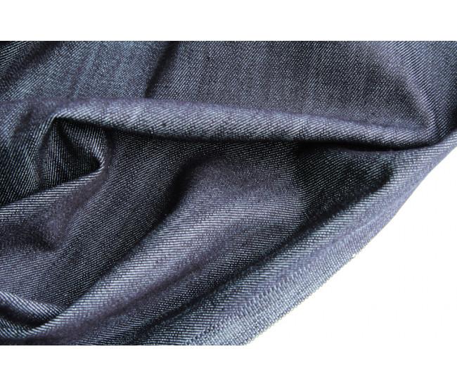 Джинса  японского производителя Kurabo,  цвет чернильно-серый меланж
