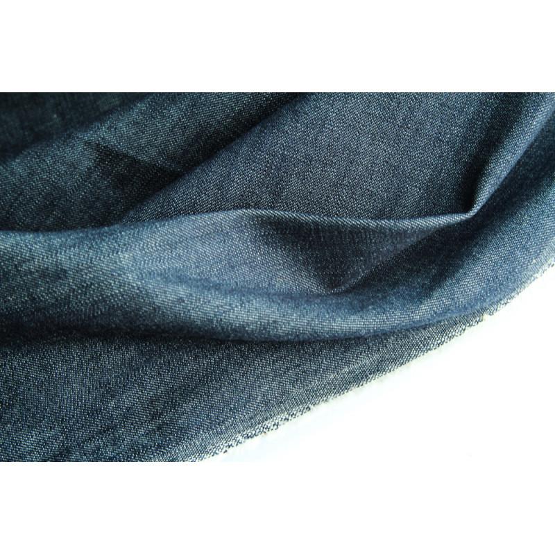 Джинса  японского производителя Kurabo,  цвет синий меланж