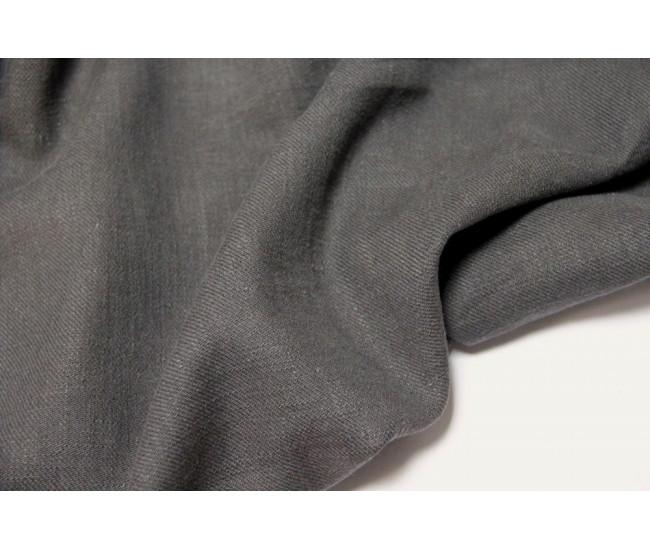 Костюмно-плательная конопля (100%),  цвет серый, оттенок приглушенный.