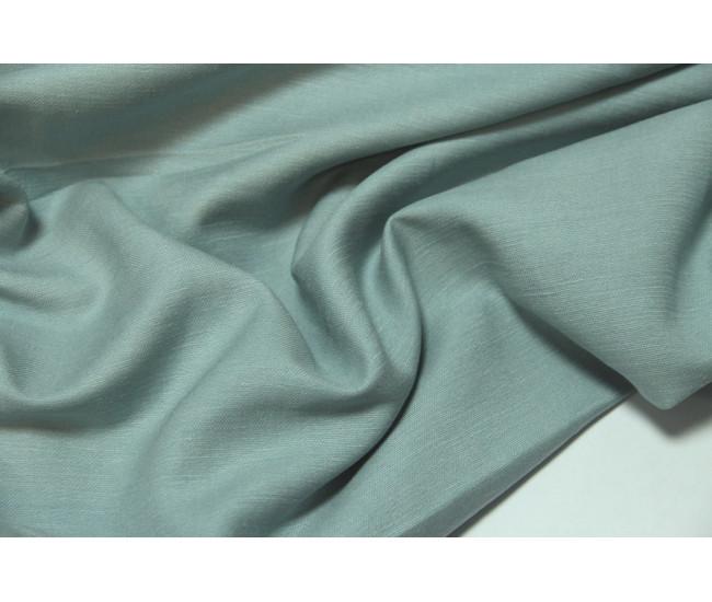 Костюмно-плательная ткань (конопля 50%,вискоза 50%), цвет  серо-голубой.ост.0.65+0.6м