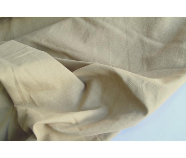 Плательно-костюмная вареная крапива.  Цвет светло песочный.
