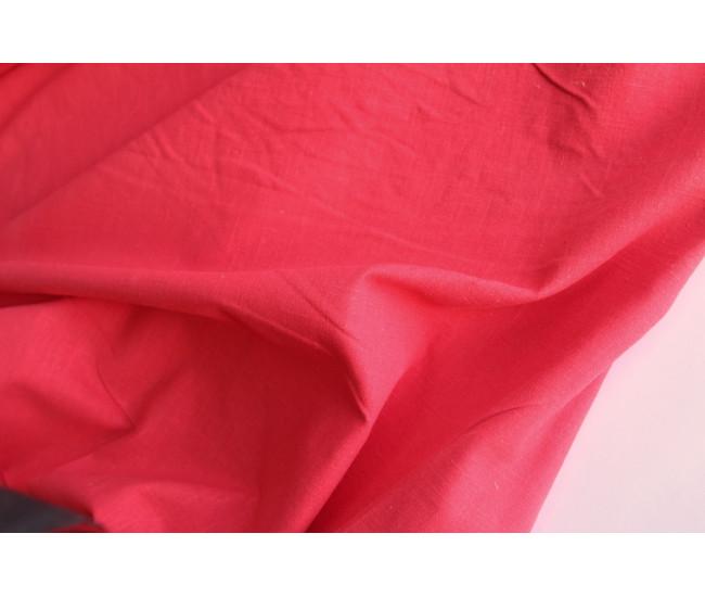 Плательно-костюмная вареная крапива.  Цвет алый.