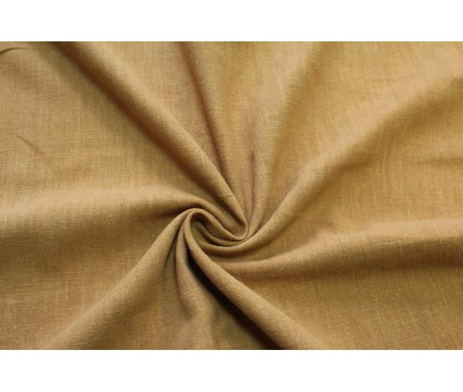 Костюмно-плательная вареная крапива ,цвет охра