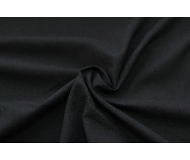 Костюмно-плательная вареная крапива.   Цвет черный