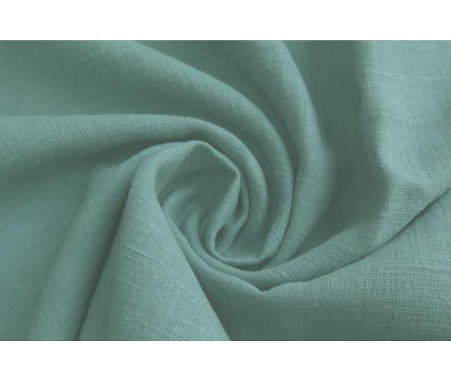 Костюмно-плательная вареная крапива.   Цвет голубая ель.