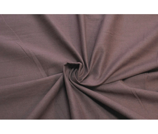 Костюмно-плательная ткань (крапива 60%,хлопок 40%),цвет приглушенный  винный