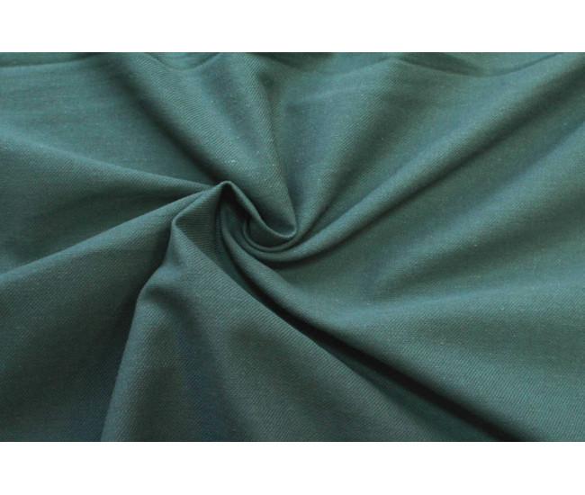 Костюмно-плательная ткань (крапива 60%,хлопок 40%),цвет приглушенный бутылочный.