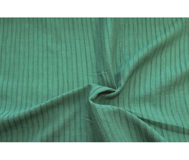 Блузочно-плательная фактурная крапива с эффектом крэш.