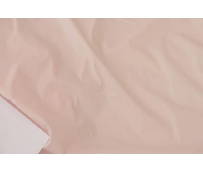 Плательно-рубашечный хлопок стрейч.     Цвет розовая пудра.