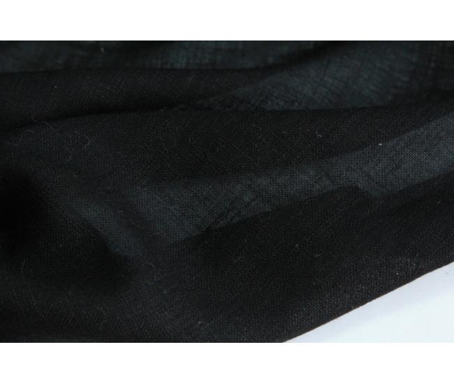 Плательно-блузочная марлевка,цвет черный