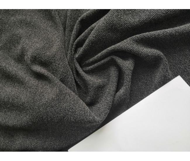 Костюмно-плательный трикотаж букле, цвет серый меланж,  Отрез 2,75м.