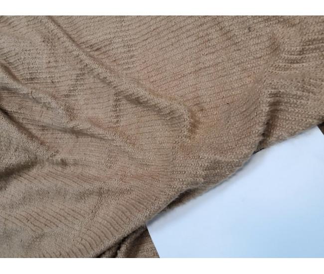 Трикотаж, цвет песочно-персиковый, отрез 3,7м