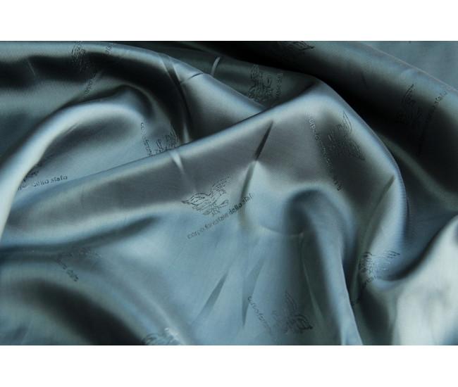 Подкладочная жаккардовая вискоза ,  цвет  серый