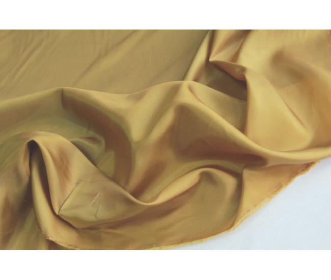 Подкладочная ткань.   Цвет античное золото.