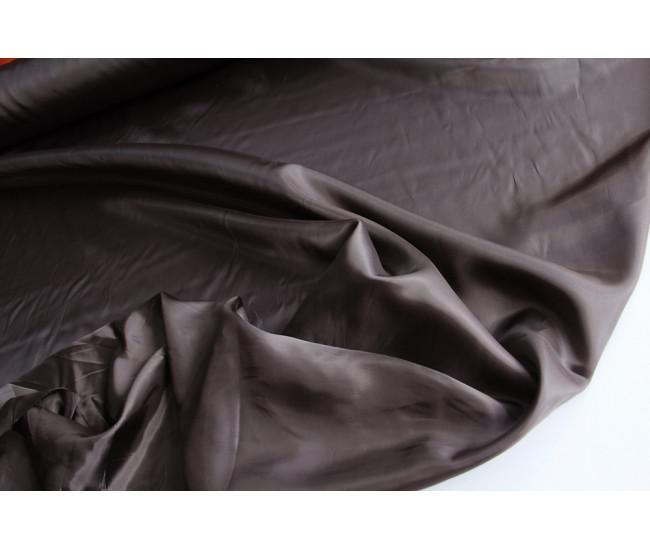 Подкладочная  ткань.   Цвет серо-коричневый.