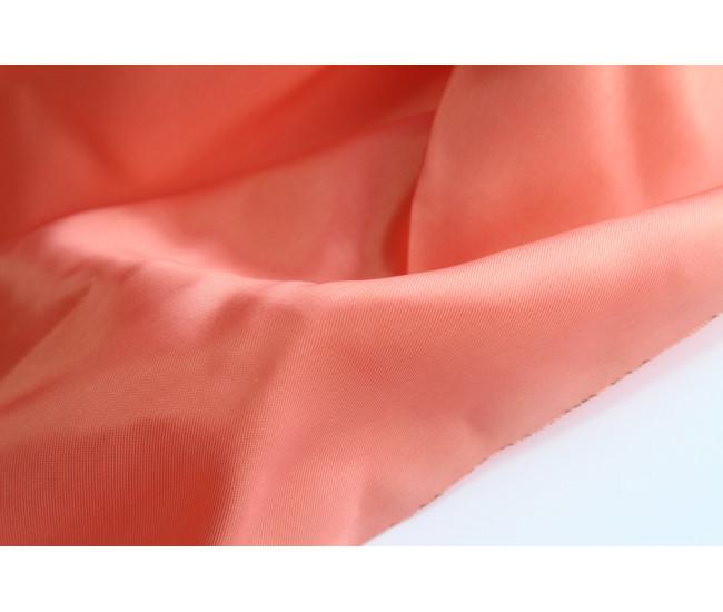 Подкладочная  ткань ,  цвет лососевый