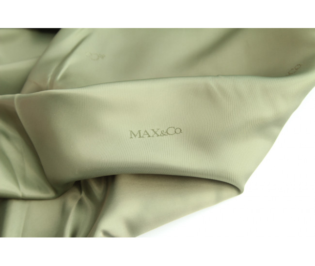 Подкладочная жаккардовая  ткань  Max&C(Мах Mara) ,  цвет оливковый