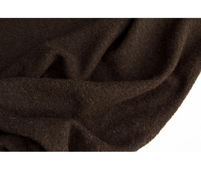 Костюмно-плательный трикотаж, мелкое букле.    Цвет шоколадный.