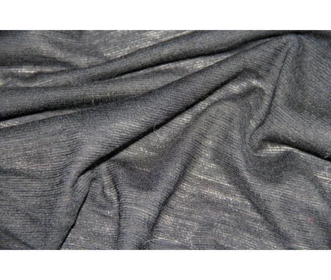 Шерстяной трикотаж,цвет черный