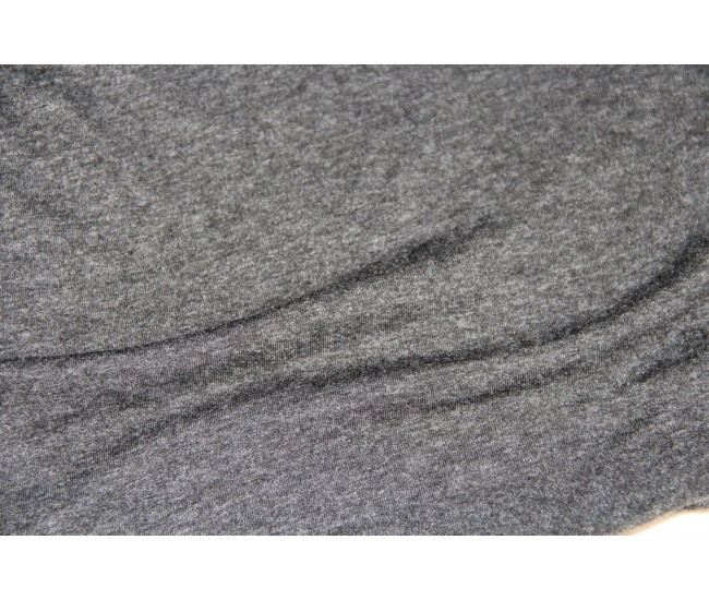 Вискозный трикотаж,  цвет серый-меланж