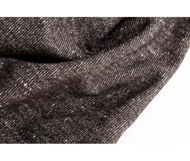 Костюмный двусторонний шерстяной  трикотаж Armani