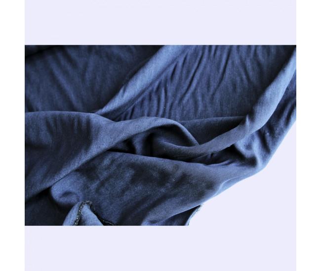 Костюмно-плательная двухсторонняя вискоза, цвет синий морской.