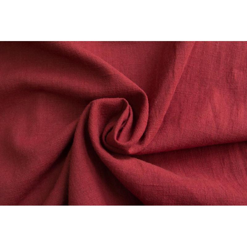 Плательно-костюмная крапива.   Цвет красно-терракотовый