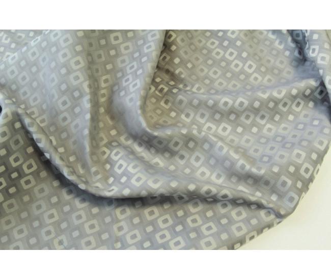 Костюмно-тренчевый жаккард,  цвет серый