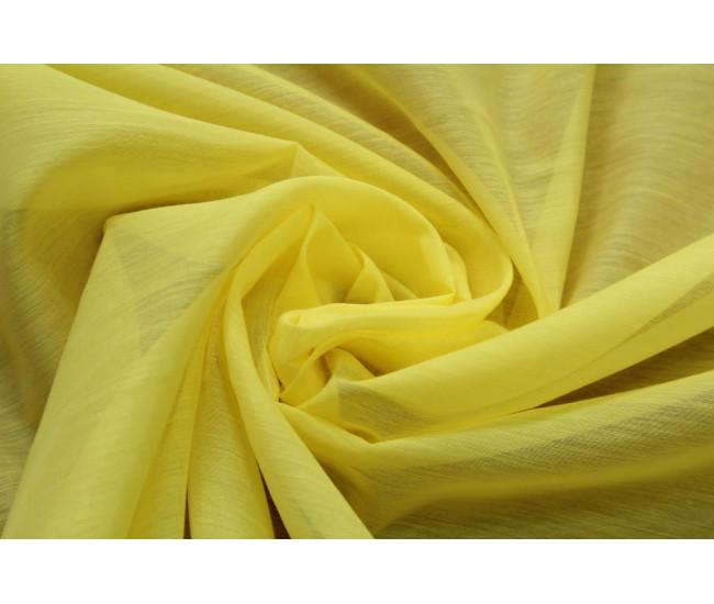 Плательно-блузочный батист,  цвет лимонный