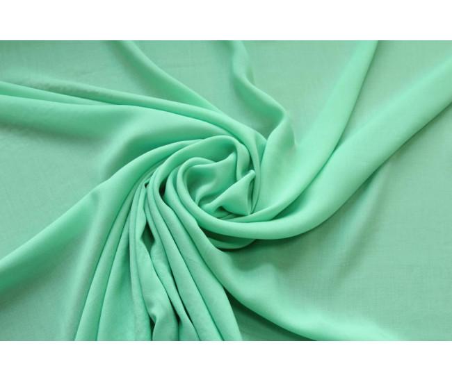 Плательно-блузочная тонкая вискоза,  цвет мятный